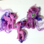 My Little Pony G4 collection of twilight sparkle ponies